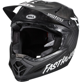 Bell Full-9 Helm matte black/white fasthouse